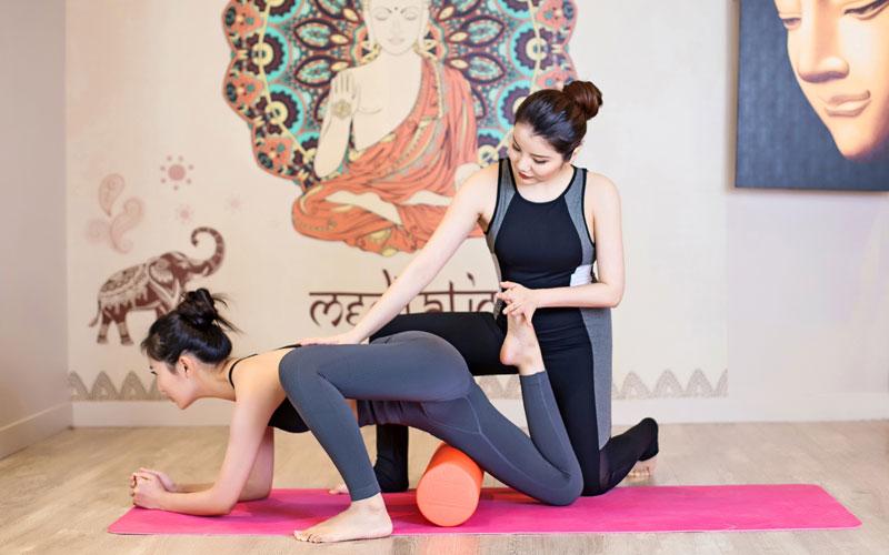 暖宫女性瑜伽